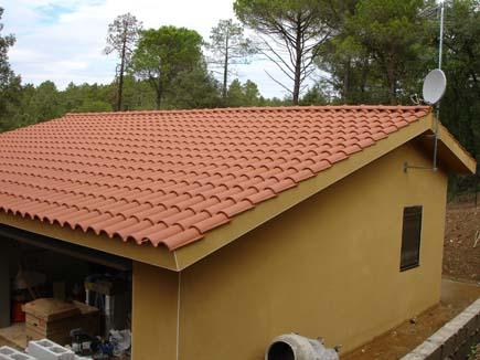 Materiales para tejados materiales for Tejados de madera y teja